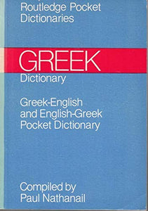 English-Greek, Greek-English Dictionary (Routledge pocket dictionaries)