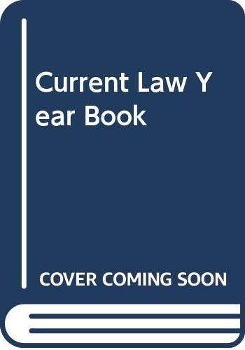 Current Law Year Book