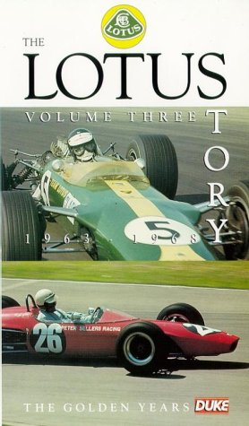 The Lotus Story: Volume 3 - 1963-68 [VHS]
