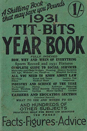 The 1931 Tit-Bits Year Book