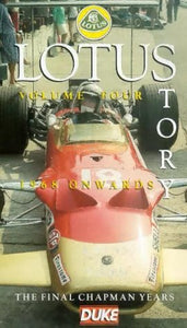 The Lotus Story: Volume 4 - 1968 Onwards [VHS]