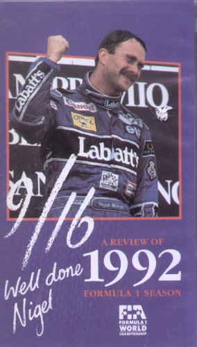 A Review of 1992 Formula 1 Season - Well Done, Nigel!