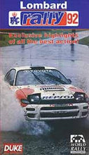 Load image into Gallery viewer, RAC Lombard Rally 1992 [VHS]