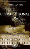 Constitutional Law (Essential Law Text) (Essential Law Texts)
