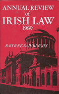 Annual Review of Irish Law 1989 (1989)