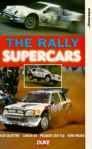 The Rally Supercars [VHS]