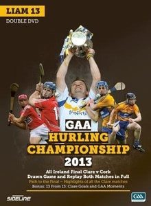GAA Hurling Championship 2013 (Liam 13): All Ireland Final Clare v Cork - Drawn Game and Replay. Both matches in full
