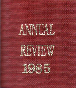 The All England Law Reports - Annual Review 1985