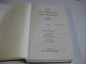 The All England Law Reports: 1988 Vol 3