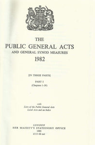 The Public General Acts and General Synod Measures: With Lists of the Public General Acts, Local Acts and an Index