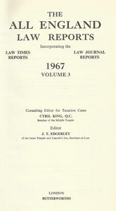 The All England Law Reports 1967 Volume 3
