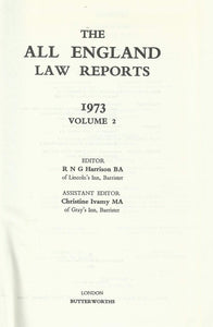 THE ALL ENGLAND LAW REPORTS 1973 VOLUME 2