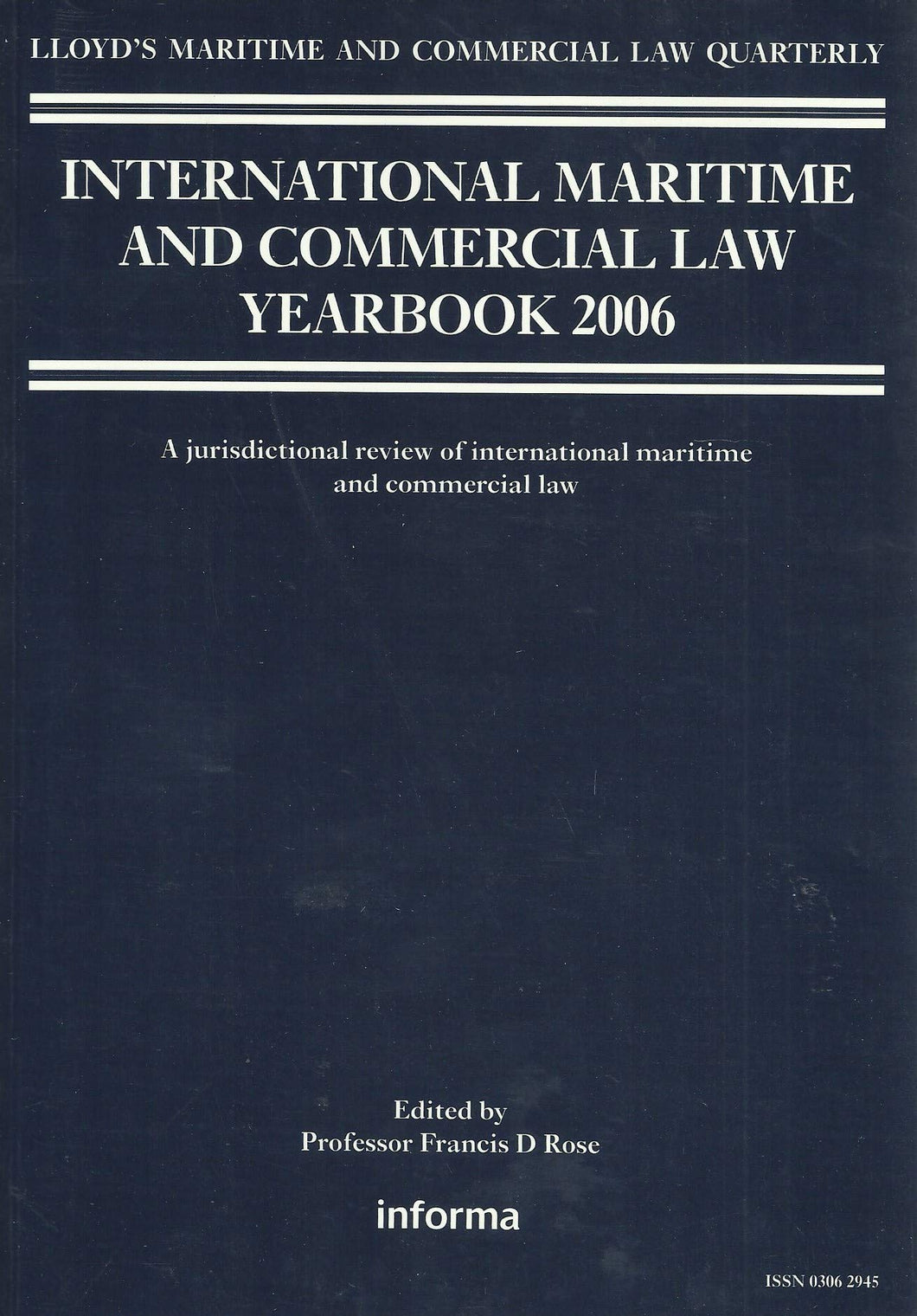 Maritime and Commercial Law Yearbook