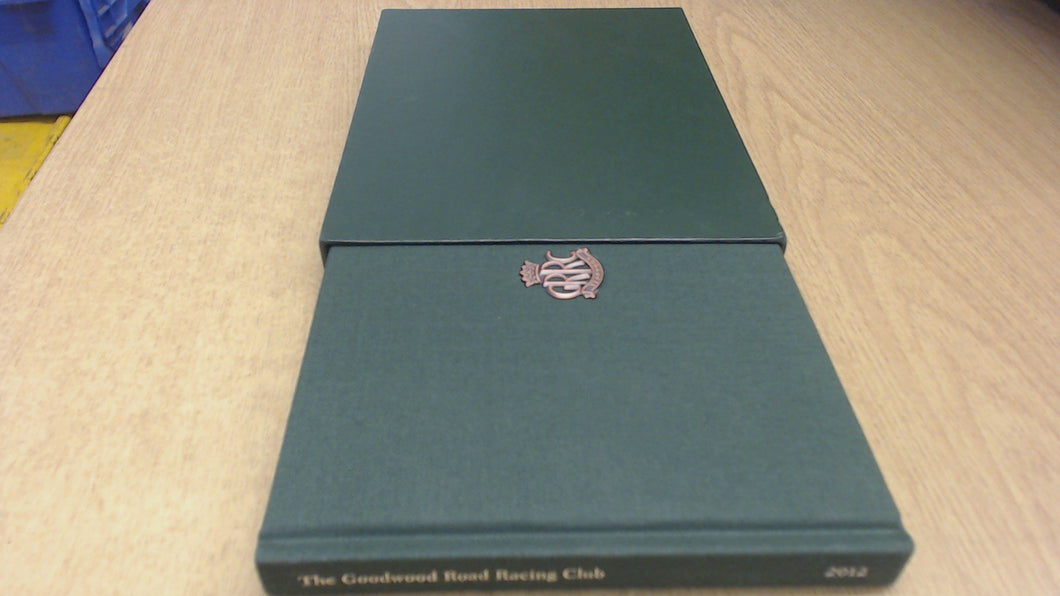 THE GOODWOOD ROAD RACING CLUB 2012 YEARBOOK.