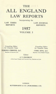 The All England Law Reports: 1957 Vol 2