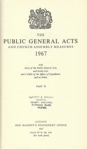 The Public General Acts and Measures of 1967 - Part II