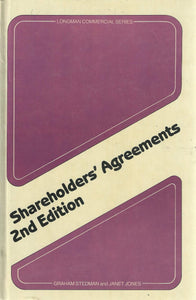 Shareholders' Agreements 2nd Edition (Longman Commercial Series)