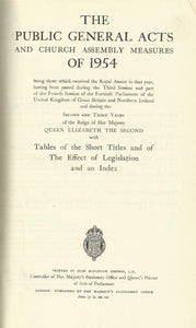 1954 - The Public General Acts
