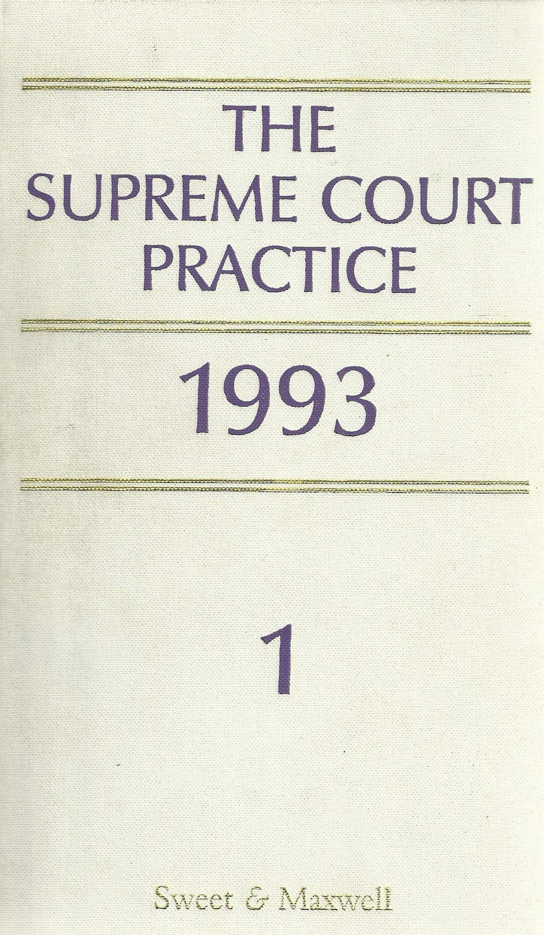 The Supreme Court Practice: 1993