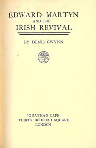 Edward Martyn and the Irish revival,