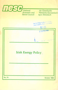 Irish energy policy (National Economic and Social Council publications)