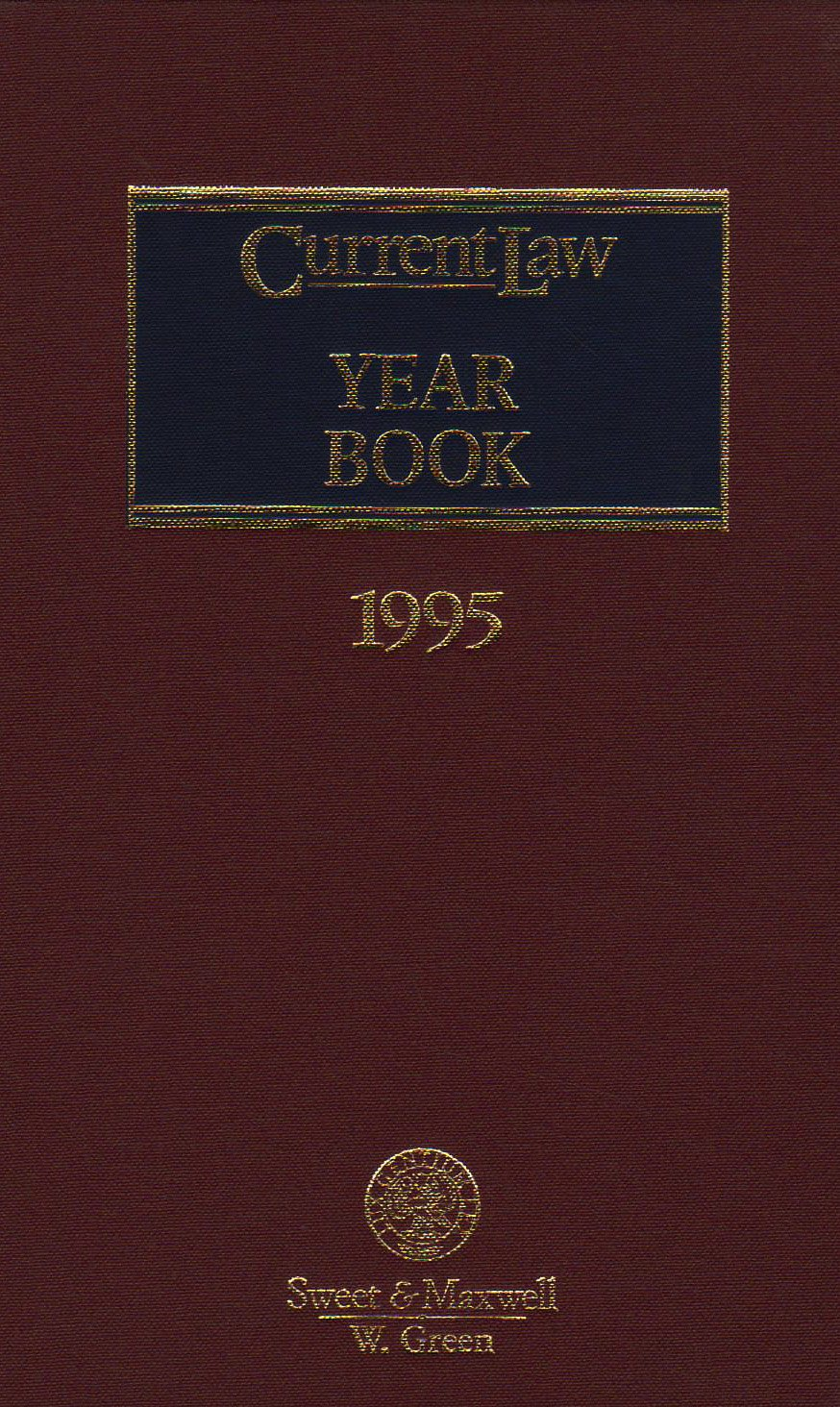 Current Law Year Book 1995
