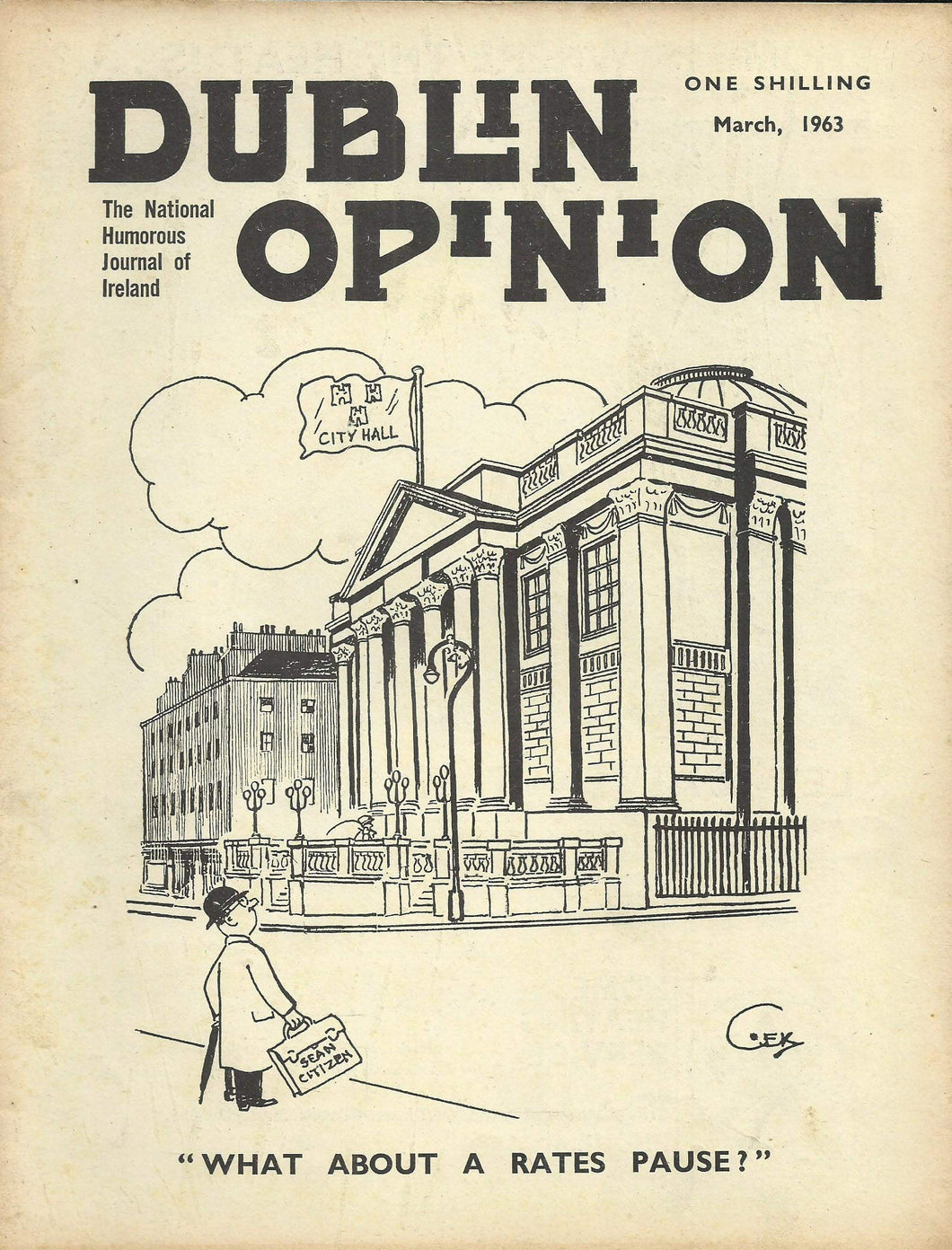 Dublin Opinion - March, 1963 - The National Humorous Journal of Ireland