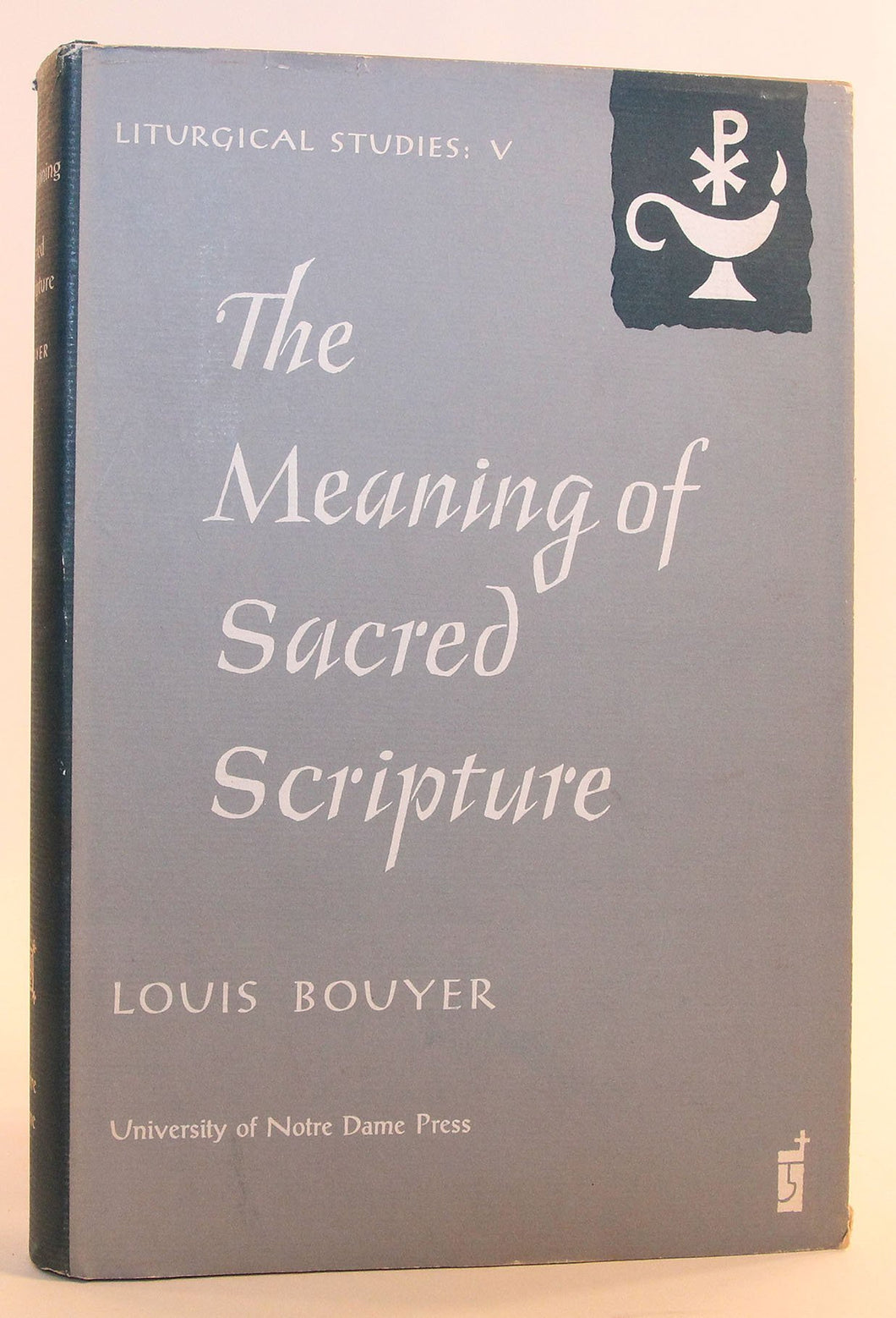 The meaning of Sacred Scripture
