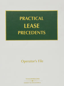 Practical Lease Precedents