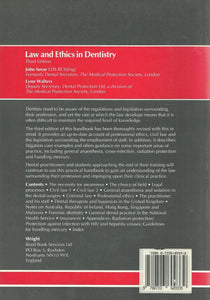 Law and Ethics in Dentistry