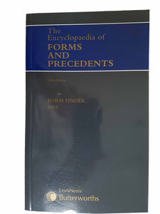 Encyclopaedia of Forms and Precedents Form Finder