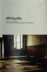 dBMgallo: Two Films on Ireland's Participation at the 12th International Architecture Exhibition at Venice