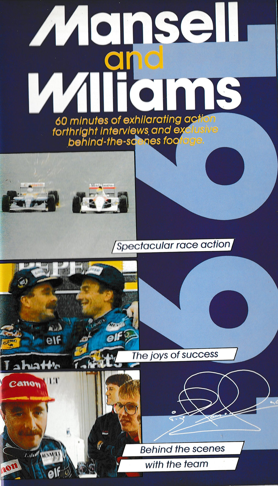 Mansell & Williams 1991 [VHS]