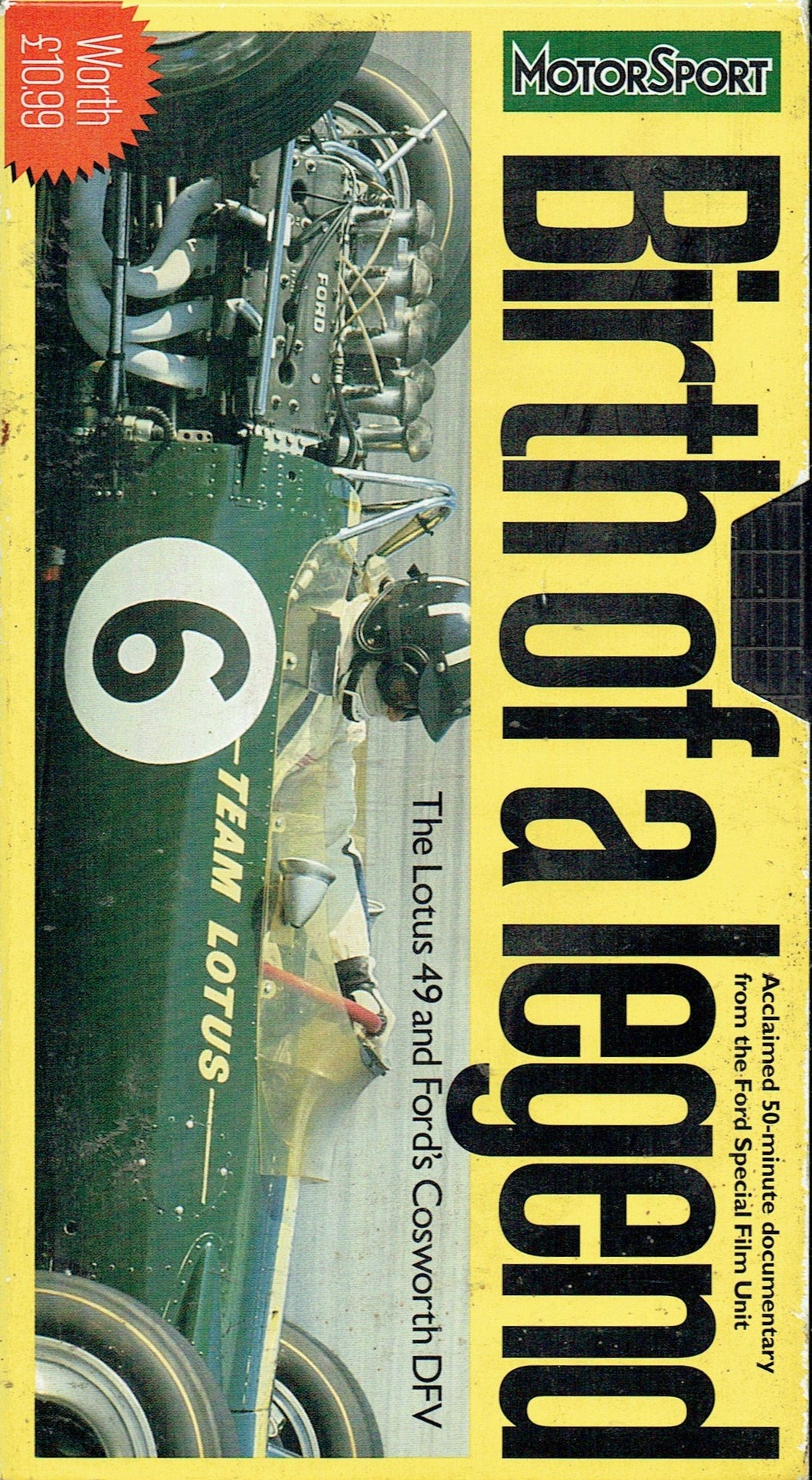 Birth of a Legend - The Lotus 49 and Ford's Cosworth DFV