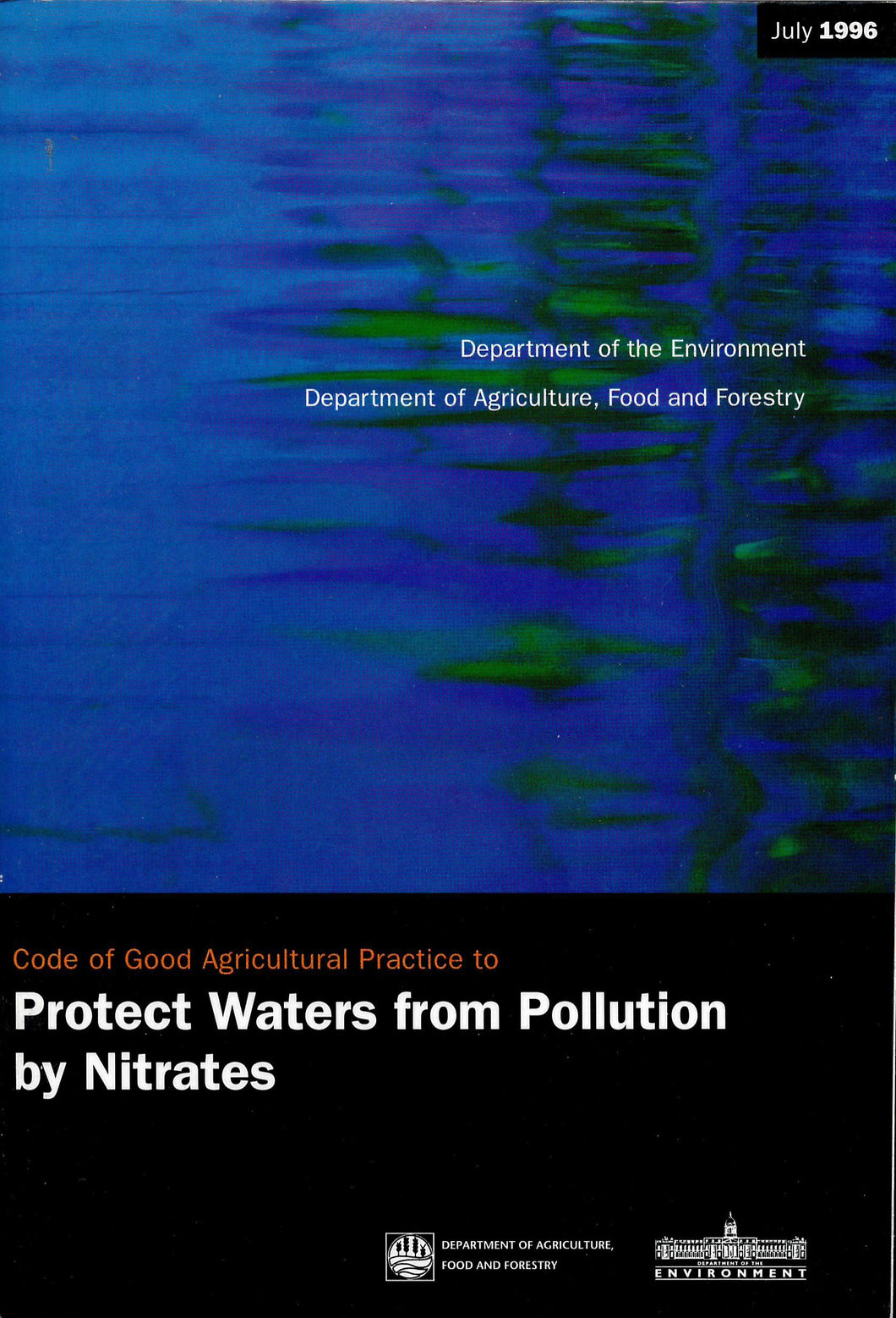 Code of good agricultural practice to protect waters from pollution by nitrates