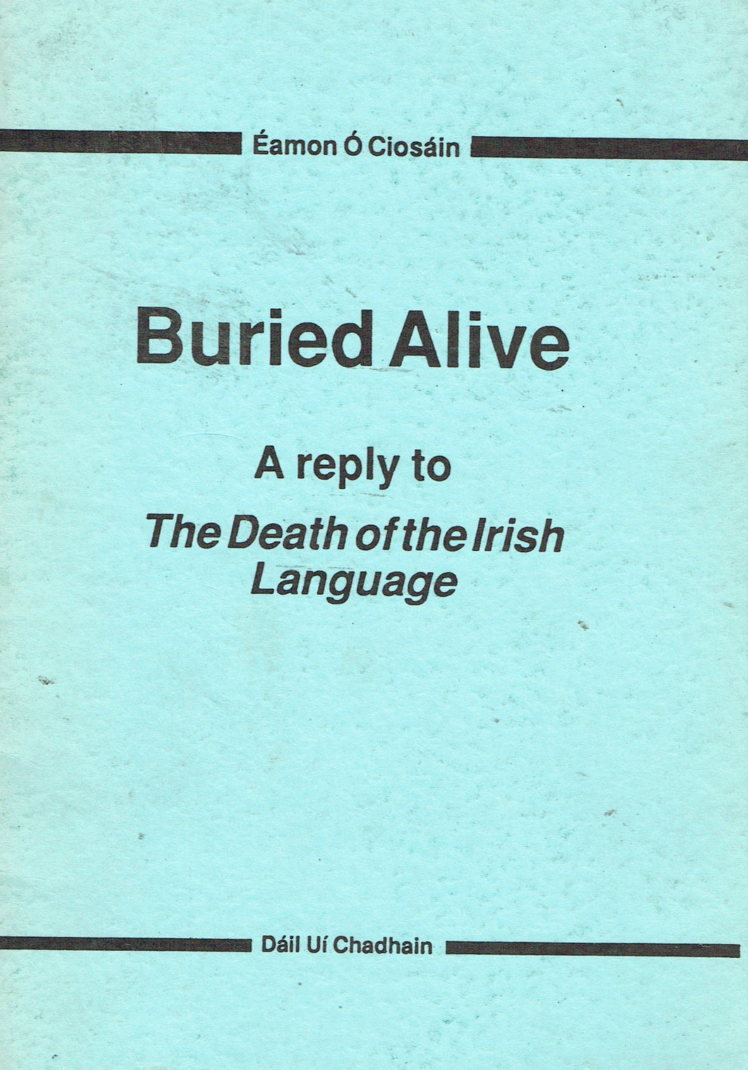 Buried alive: A reply to Reg Hindley's