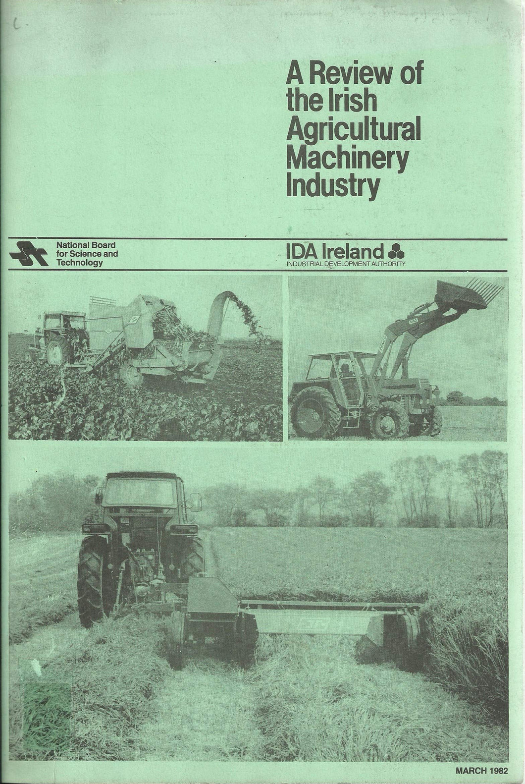A Review of the Irish agricultural machinery industry