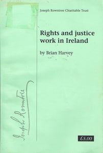 Rights and Justice Work in Ireland