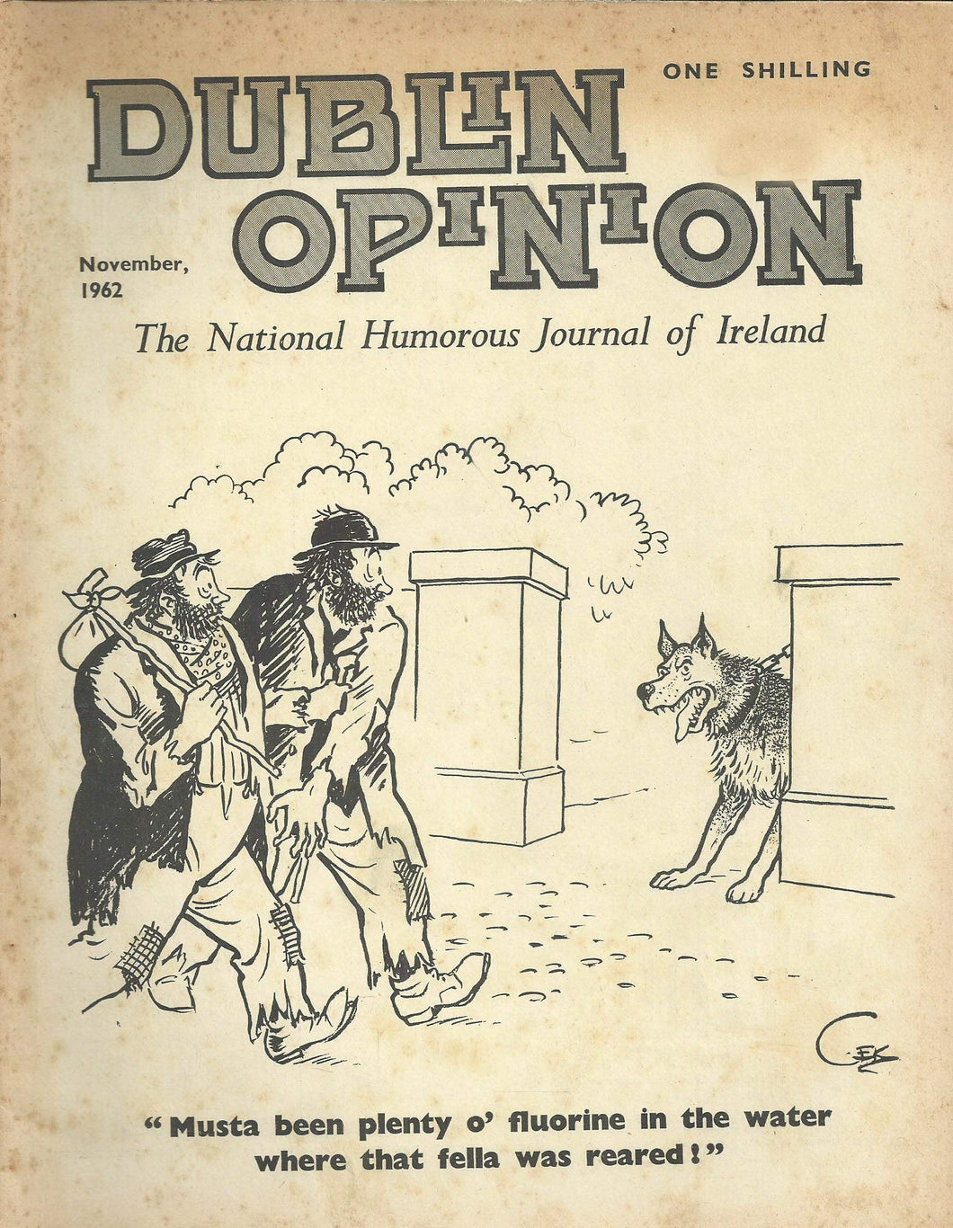 Dublin Opinion - November, 1962 - The National Humorous Journal of Ireland