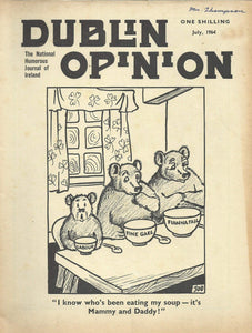 Dublin Opinion - July, 1964 - The National Humorous Journal of Ireland