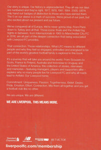 The World's Greatest Football Family: Liverpool Football Club (LFC) Official Membership Book 2018/19