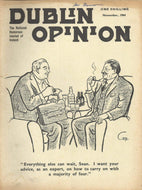 Dublin Opinion - November, 1964 - The National Humorous Journal of Ireland