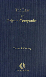 The Law of Private Companies