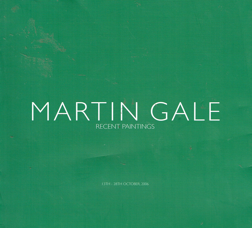Martin Gale: Recent Paintings: From the Midlands