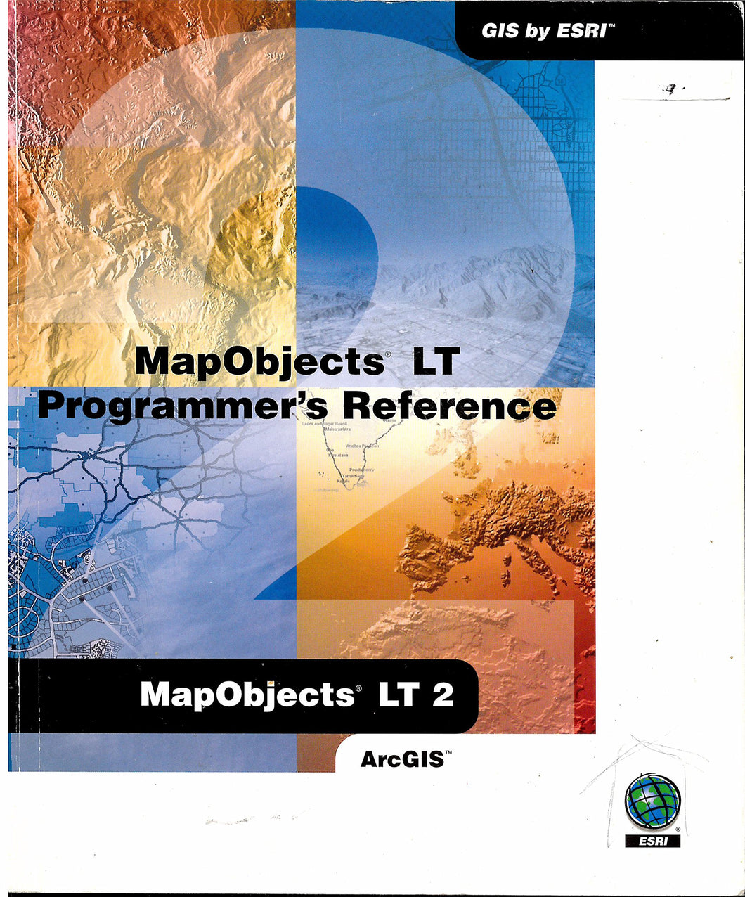 MapObjects LT Programmer's Reference - AarcGIS - GIS by Esri