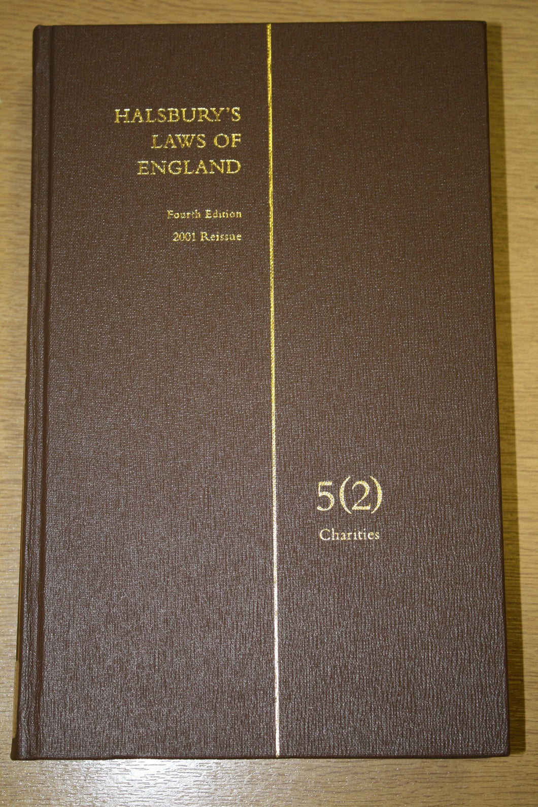 HALSBURY'S LAWS OF ENGLAND VOLUME 5(2)