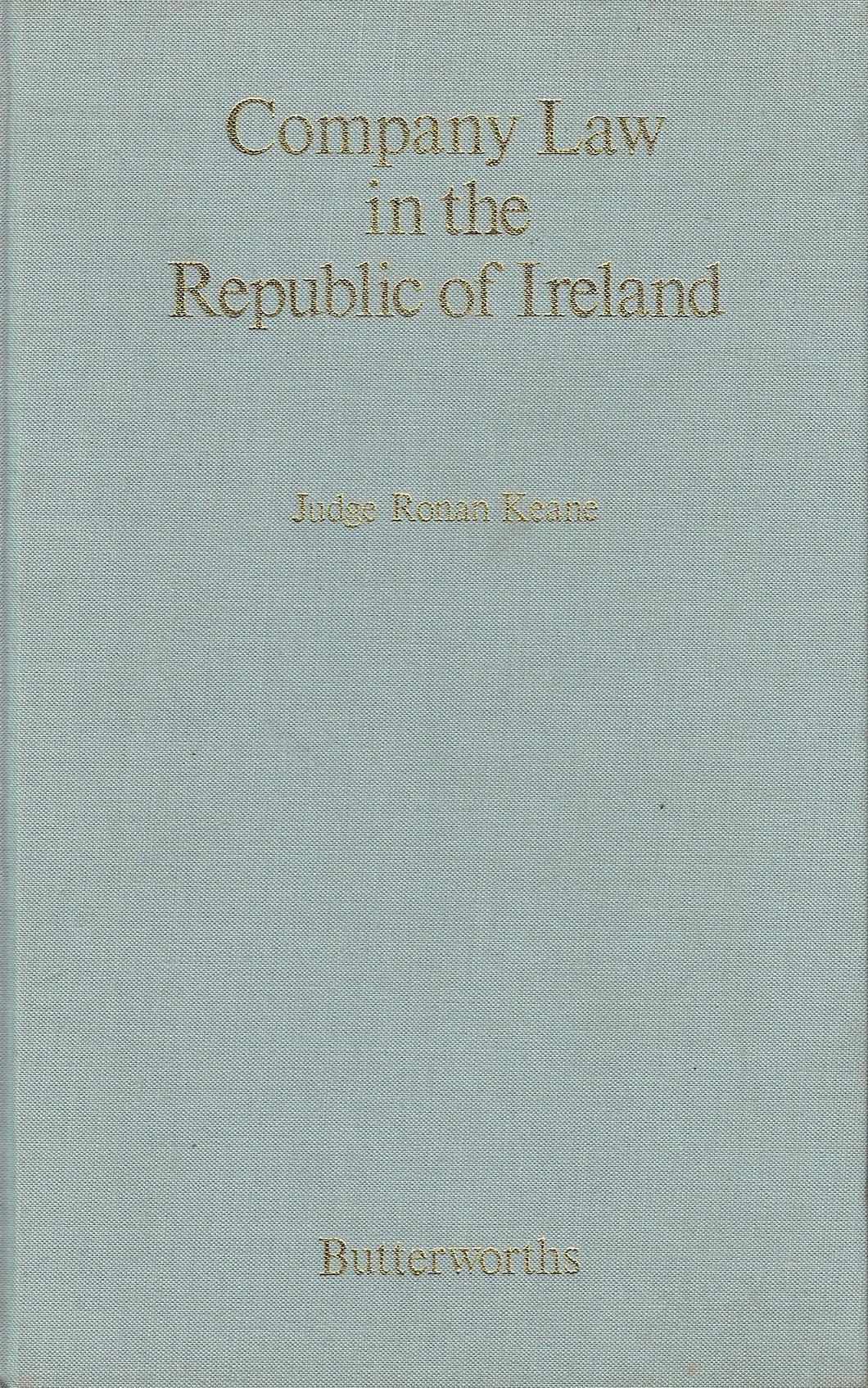 Company Law in the Republic of Ireland
