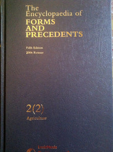 The Encyclopaedia of Forms and Precedents: v. 2, Pt. 2
