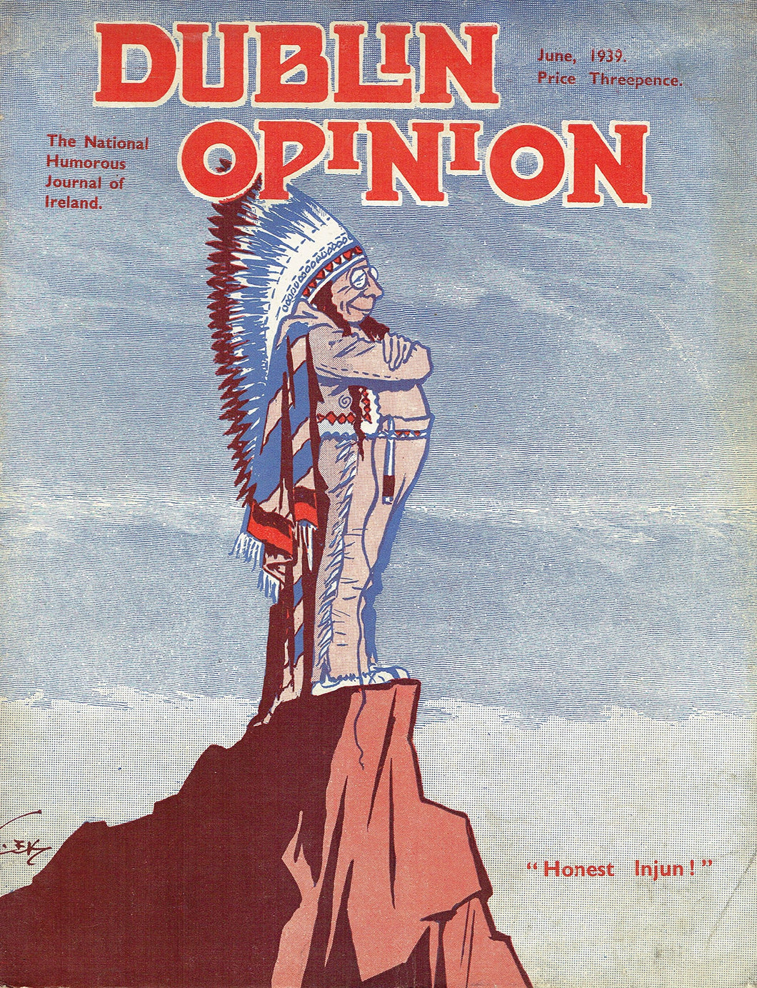 Dublin Opinion: The National Humorous Journal of Ireland - June 1939