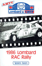 Load image into Gallery viewer, 1986 Lombard RAC Rally - AMTV [VHS]